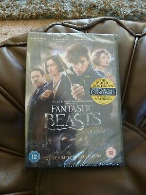 New & Sealed ~ Fantastic Beasts And Where To Find Them DVD