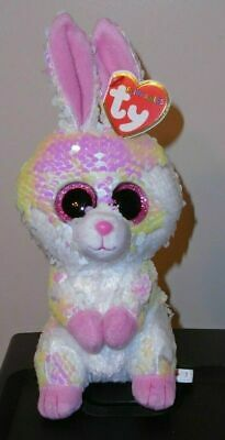 Ty FLIPPABLES ~ BONNIE the Easter Bunny Rabbit Sequins 6