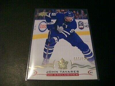 2018/19 Upper Deck Series 2 John Tavares UD Exclusive Card /100