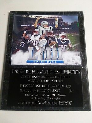 5e9a45e68ea New England Patriots Super Bowl LIII Champs plaque - New Lower Pricing!