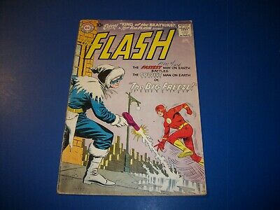 Flash #114 Silver age 10 center Early Captain Cold Wow Kid Flash