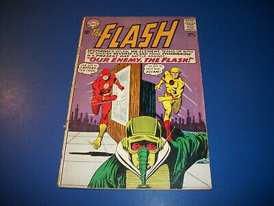 Flash #147 Silver age Reverse Flash Cover Key 2nd Professor Zoom WOW!