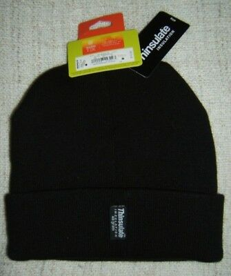 ea170c0fea9 Tek Gear WarmTek Knit Hat With 40g 3M Thinsulate Insulation Black Adult one  size