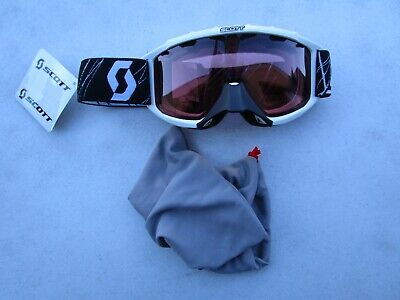 Scott USA 89 Si Snow Cross Youth Goggles dual pane ROSE lens  217801-0002108