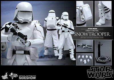 READY HOT TOYS 2015 SW EP VII FORCE AWAKENS FIRST ORDER CAPTAIN PHASMA MMS328