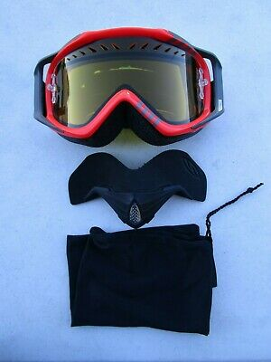 SMITH goggles SNOW Fuel v.2 v2 Sweat X dual pane yellow lens BLAZE TEAM