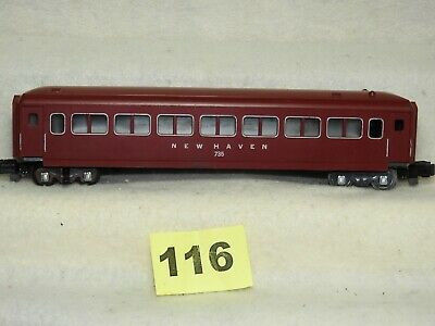 American Flyer S Scale #735 New Haven Operating Passenger Car Ready To Run