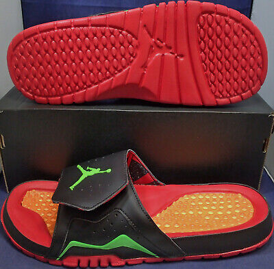 4fcbb8acff48 Nike Air Jordan Hydro VII 7 Retro Marvin the Martian Slides SZ 12 ( 705467-