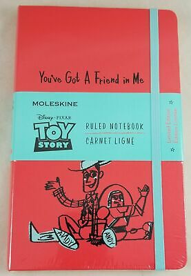 Disney Moleskine Toy Story: Limited Edition Notebook Large Ruled Geranium Red