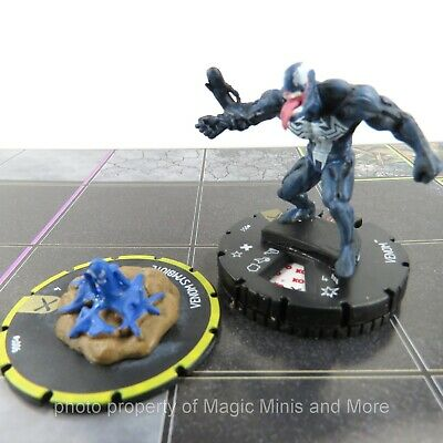 Earth X - VENOM #051 HeroClix super rare miniature #51 + SYMBIOTE Equipment