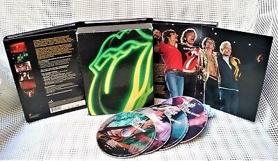 The Rolling Stones: Four Flicks [4 DVD's,Box-set+booklet 2003]