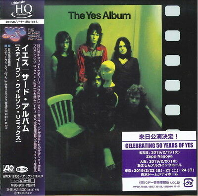 Yes-The Yes Album-Japan Mini Lp Uhqcd G35