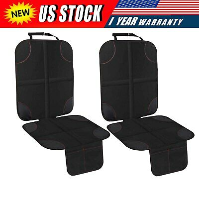 Baby Child Car Seat Protector 2 Pack Mat with Storage NEW  Auto Seat Cover Pad