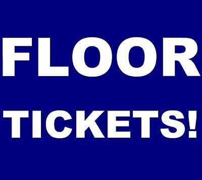 The Avett Brothers tickets New Orleans The Fillmore 3/16 *** FLOOR! ***
