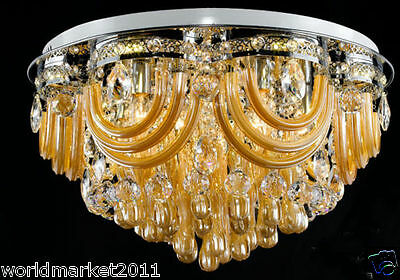 Modern Simple Style 60*39 CM Stainless steel+ Crystal Ceiling Light Chandelier