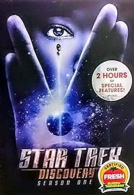 **STAR TREK: DISCOVERY** Season One 4 Disc DVD!!!  Brand New Factory Sealed!!!