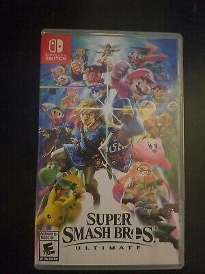 Super Smash Bros. Ultimate Game Only for Nintendo Switch