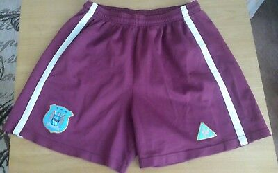 "Manchester City football shorts  size   32"" Le  Coq  Sportif"