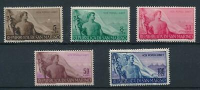 [122095] San Marino 1943 good set of stamps very fine MNH $160