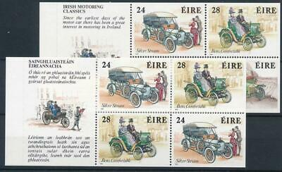 [122241] Ireland 1989 Cars good sets (2) of stamps very fine MNH