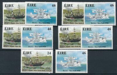 [122336] Ireland 1988 Transports good sets (5) of stamps very fine MNH