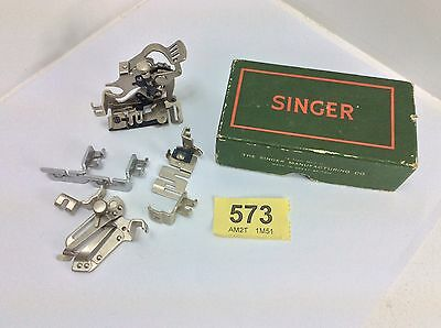 Vintage Singer Sewing Machine Parts And Box