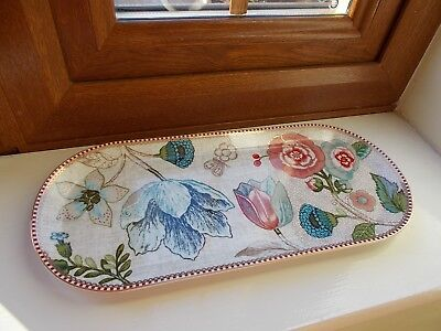 c50aaffde95 NEW - Pip Studio Spring To Life Floral Off White / Cream Cake Serving Tray