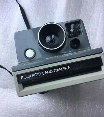 VINTAGE Polaroid 'The Button' SX-70 Instant Point and Shoot Film Camera *No Film