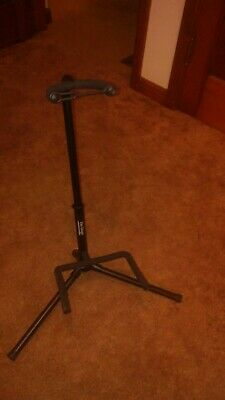 On Stage XCG4 Black Tripod Guitar Stand, Single Stand Brand New