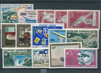 [111770] Gabon good Lot very fine MNH Airmail Stamps