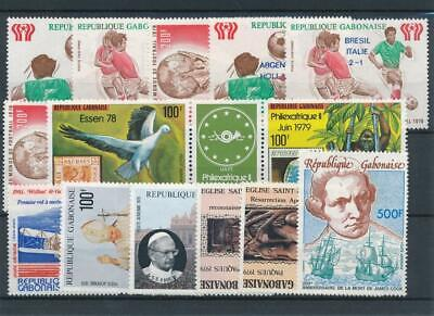 [111777] Gabon good Lot very fine MNH Airmail Stamps