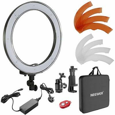 Neewer 18-inch Outer Dimmable SMD LED Ring Light Lighting Kit with Color Filters