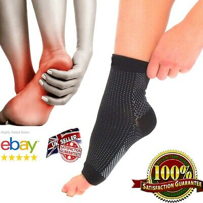 Compression Socks Plantar Fasciitis Foot Arch Support Pain Heel Relief Splint