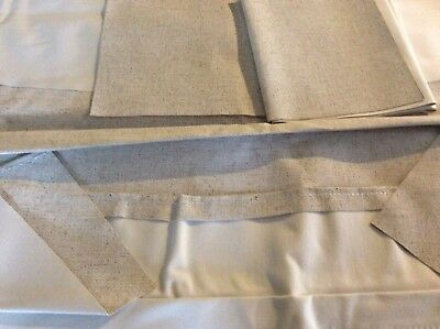 Morris Minor 1000 Traveller Rear Headlining Section Roofcloth Up To 1971 Fleck