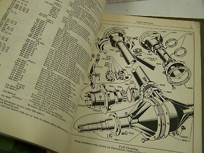 vtg 1928-1937 FORD Model A B CAR Chassis Parts List Manual original 261 pages