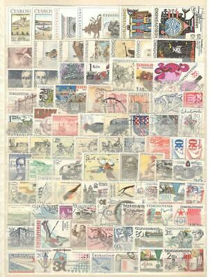 Czechoslovakia - 85 Stamps - Mint And Used