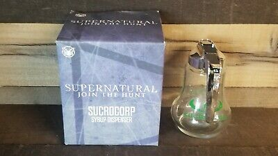 Supernatural CultureFly Exclusive Sucrocorp Collectible Syrup Dispenser NEW