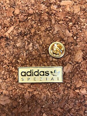 Rare Adidas Originals Spezial Gold Pin Badge Casuals