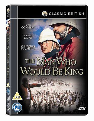 THE MAN WHO WOULD BE KING (1975) Sean Connery, Michael Caine (New & sealed DVD)