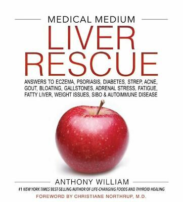 Medical Medium Liver Rescue By Anthony William Hardcover - Free 2 Days Shipping