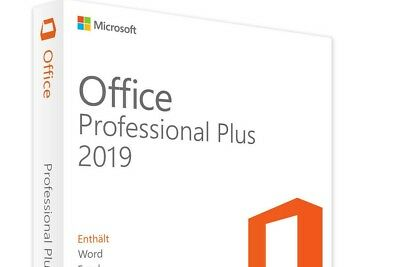 Microsoft Office 2019 Professional Plus MS Office Pro Plus deutsch Word Excel