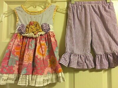 Baby & Toddler Clothing Bottoms Nwot Red Mustard Pie Woodland Magic Baby Layla Pants Size 3m 3 M Onths Cheap Sales