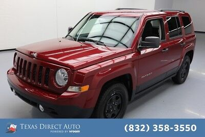 2016 Jeep Patriot Sport Texas Direct Auto 2016 Sport Used 2L I4 16V Automatic FWD SUV