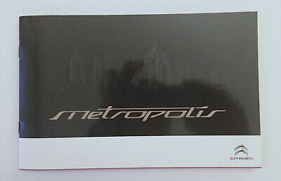 Citroen Metropolis Prototype,  Catalogue Brochure + Cd 22 Pages