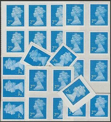 Great Britain Stamps for Postage - 24x2nd class Self-adhesive Mint Stamps