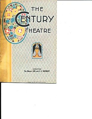 """Theatre Program Eddie Dowling """"Sally, Irene and Mary"""" 1923 NYC Musical"""