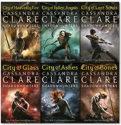 The Mortal Instruments Series (1-6) AUDIOBOOKS by Cassandra Clair