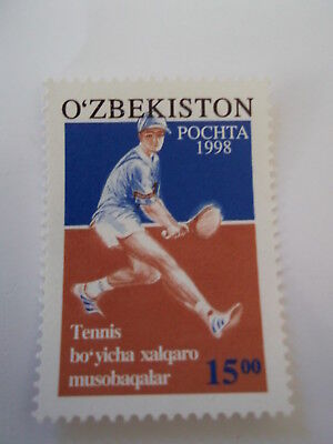 1998 Uzbekistan International Tennis Championships unmounted mint Mi.173