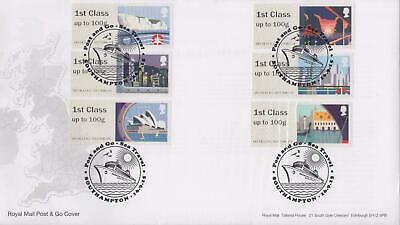 GB 2015 (16th Sept) Sea Travel Post & Go Stamps on RM Cover