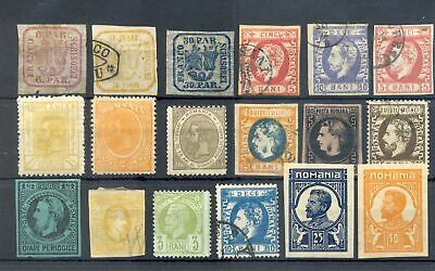 Romania 18 Classic St. -- Unsorted -----F/vf